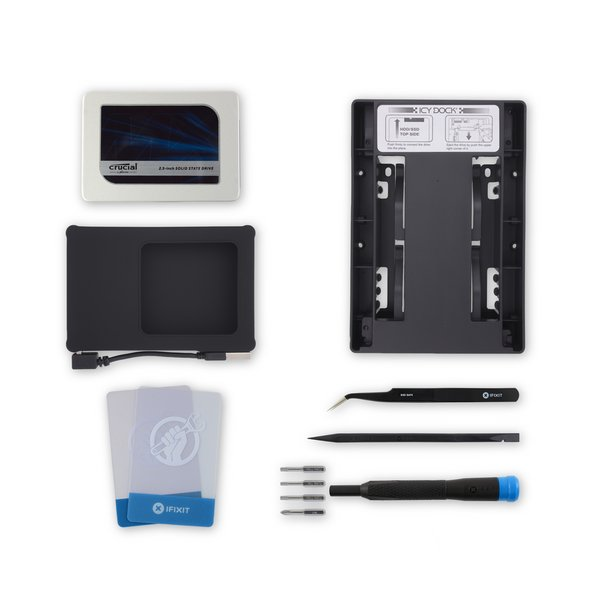 "iMac Intel 17"", 20"", and 24"" 2006 SSD Upgrade Bundle / Crucial 1 TB v1 with Silicone Drive Enclosure"