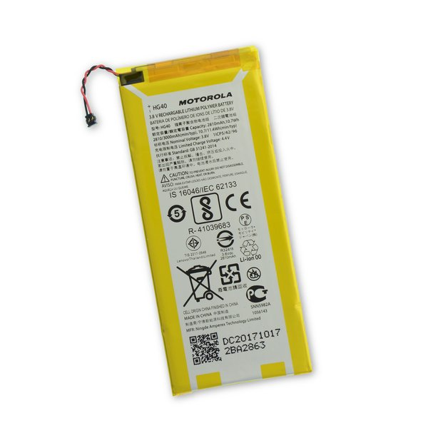 Moto G5 Plus Replacement Battery / Part Only