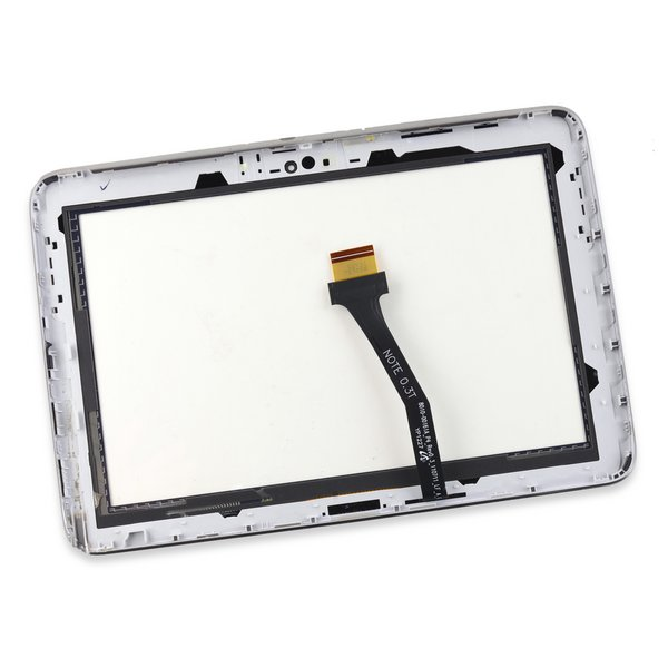 Galaxy Note 10.1 (2012) Digitizer / Black / A-Stock