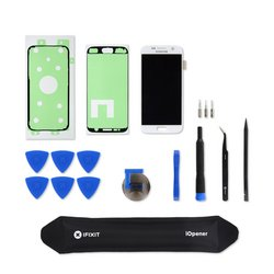 Galaxy S7 Screen and Digitizer / White / Fix Kit