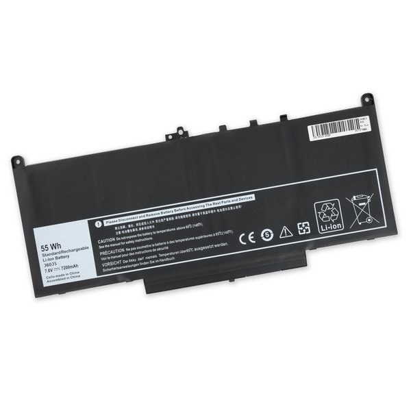 Dell Latitude 14 E7470 Ultrabook Replacement Laptop Battery / Part Only