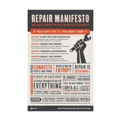 Self-Repair Manifesto / (A3) / EN