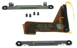 """iBook G4 14"""" Hard Drive Bracket & Cable"""