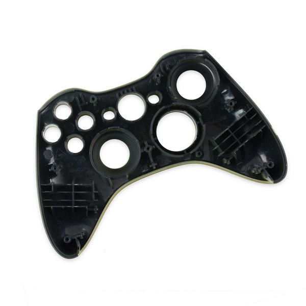 Xbox 360 Wireless Controller Front Panel (Transforming D-Pad) / Green / A-Stock