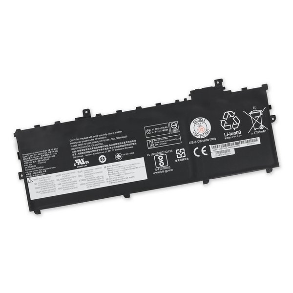 Lenovo ThinkPad X1 Carbon Gen 5 (2017) Replacement Battery / Part Only