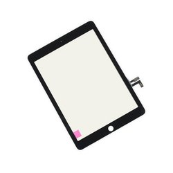 iPad 5 Front Glass/Digitizer Touch Panel / New / Part Only / Black / With Adhesive Strips
