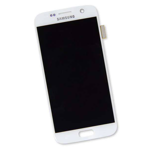 Galaxy S7 Screen / White / Part Only / AMOLED