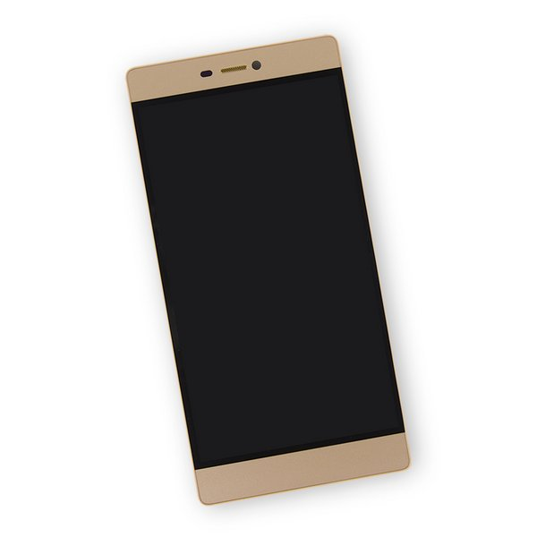 Huawei P8 LCD Screen and Digitizer Assembly / Gold / Part Only