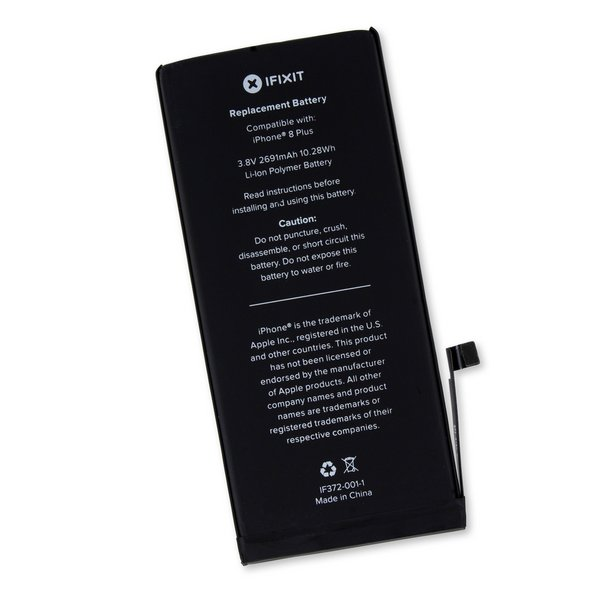 iPhone 8 Plus Replacement Battery / Part Only