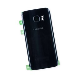 Galaxy S7 Rear Glass Panel/Cover - Original / Black / Part Only