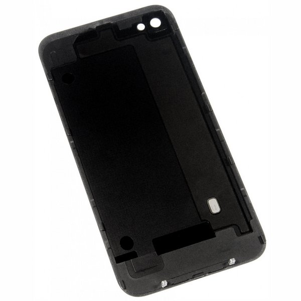 iPhone 4S Blank Rear Glass Panel / New  / Part Only / Black
