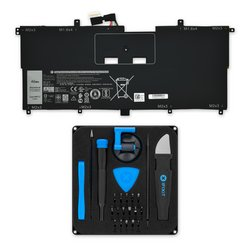 Dell XPS 13 9365 Replacement Battery / Fix Kit
