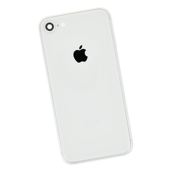 iPhone 8 OEM Rear Case / Silver / A-Stock
