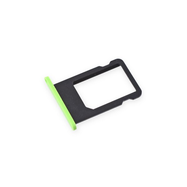 iPhone 5c SIM Card Tray / Green