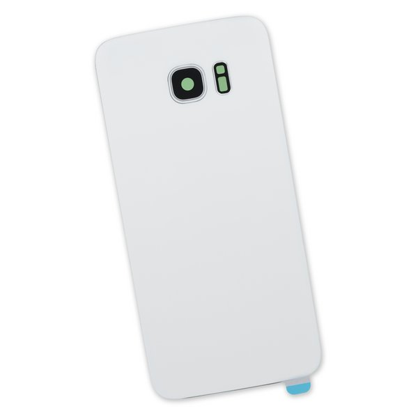 Galaxy S7 Edge Rear Panel/Cover / White / Part Only