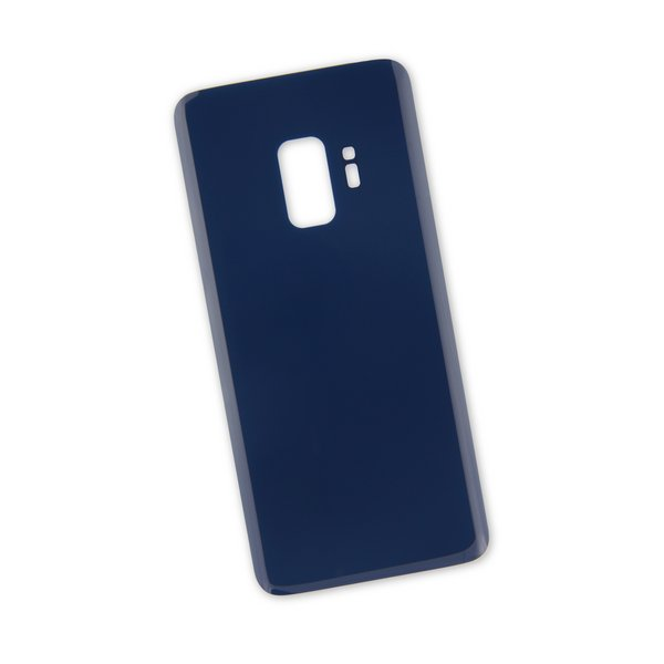 Galaxy S9 Aftermarket Blank Rear Glass Panel / Blue