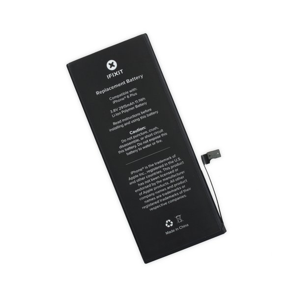 iPhone 6 Plus Replacement Battery / Part and Adhesive