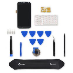 Moto X Screen and Digitizer Assembly / Black / Fix Kit
