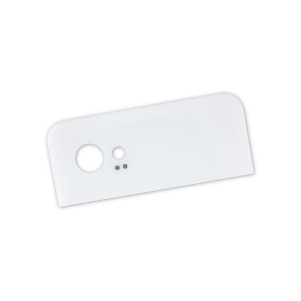 Google Pixel 2 XL Upper Rear Glass Panel / White