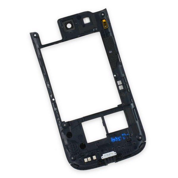 Galaxy S III Midframe (AT&T) / Black / A-Stock