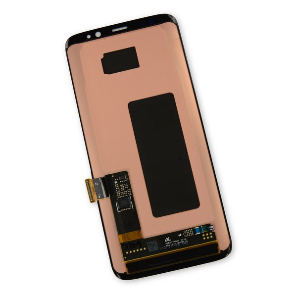 Galaxy S8 LCD Screen and Digitizer / Black / Part Only