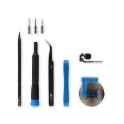 iPhone 5s Home Button Assembly / New / Black / Fix Kit