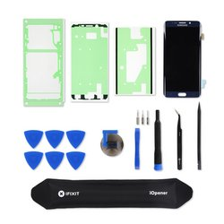 Galaxy S6 Edge+ Screen / Black / Fix Kit