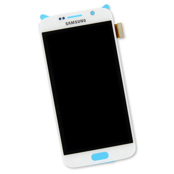 Galaxy S6 Screen / New / White / Part Only