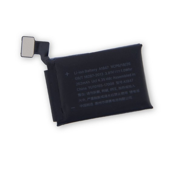 Apple Watch (38 mm Series 3 GPS) Replacement Battery / Part Only