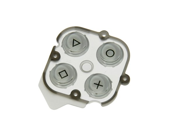 Sony PSP Go Gamepad Buttons / White