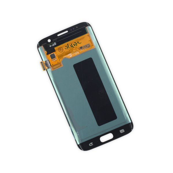 Galaxy S7 Edge LCD Screen and Digitizer / Gold / Part Only