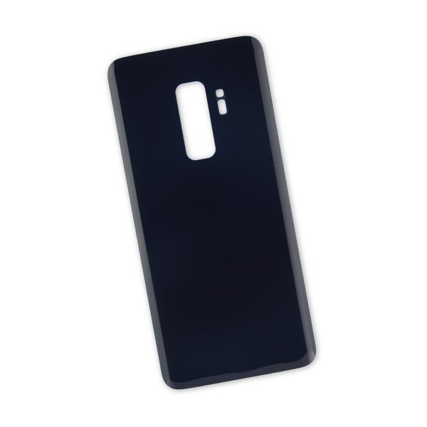 Galaxy S9+ Rear Glass Panel/Cover / Black