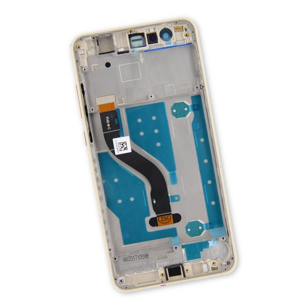 Huawei P10 Lite LCD Screen and Digitizer Assembly / Gold / Part Only