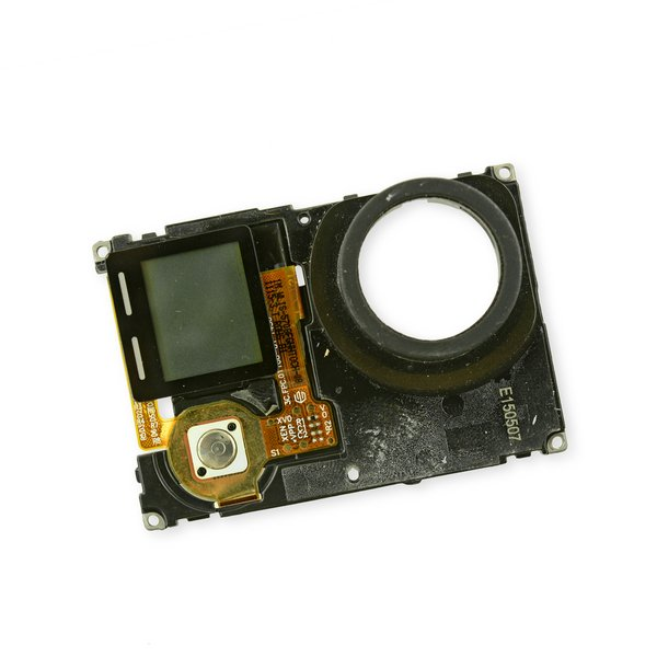 gopro hero4 silver lcd midframe assembly