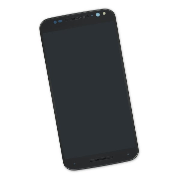 Moto X Pure Edition Screen / Black / Part Only