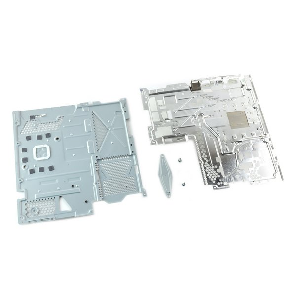 PlayStation 4 Heat Sink and Support Plate Assembly