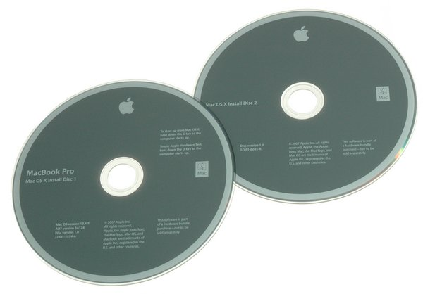 "MacBook Pro 15"" (Model A1226) Tiger Restore DVDs"