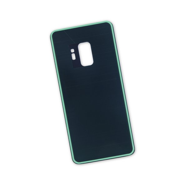 Galaxy S9 Aftermarket Blank Rear Glass Panel / Black