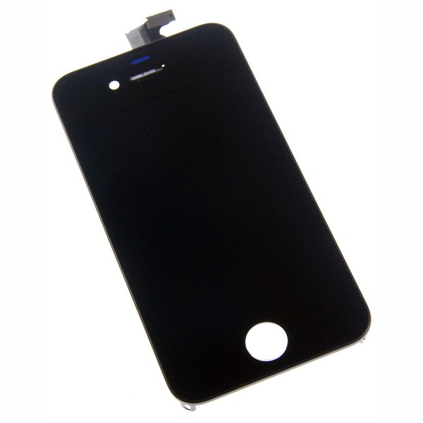 iPhone 4 LCD Screen and Digitizer (GSM/AT&T) / Part Only / Black / New