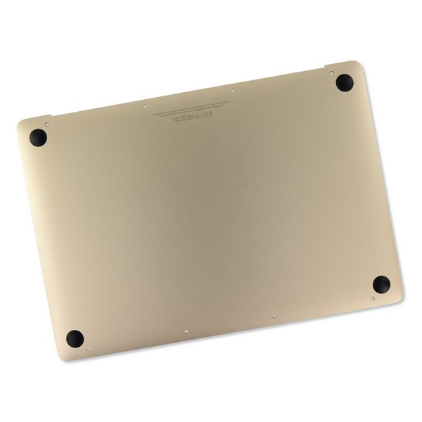 "MacBook 12"" Retina (Early 2016-2017) Lower Case Assembly / A-Stock / Gold"