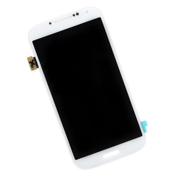Galaxy S4 Screen / White / Part Only
