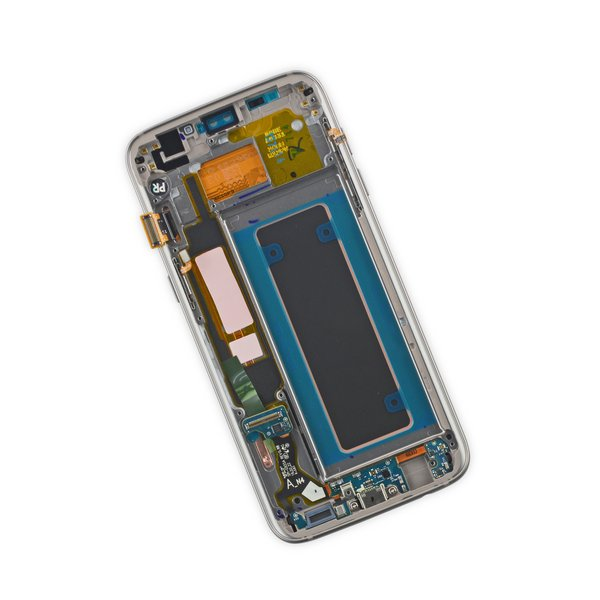 Galaxy S7 Edge LCD Screen and Digitizer Assembly (AT&T) / Gold / New