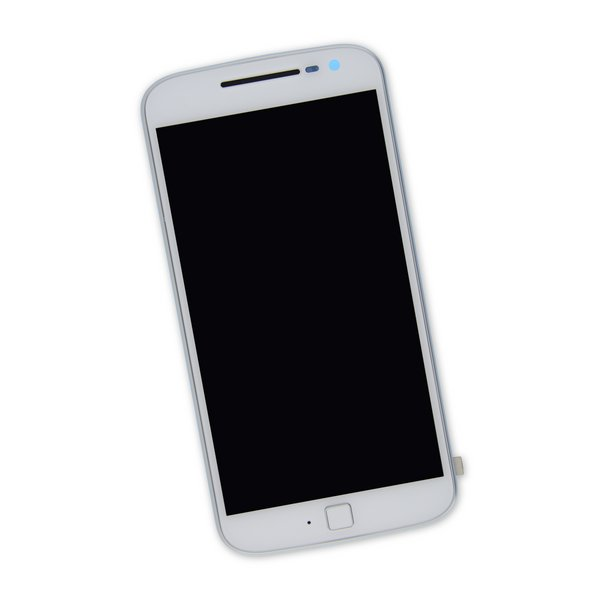 Moto G4 Plus Screen / White / Part Only