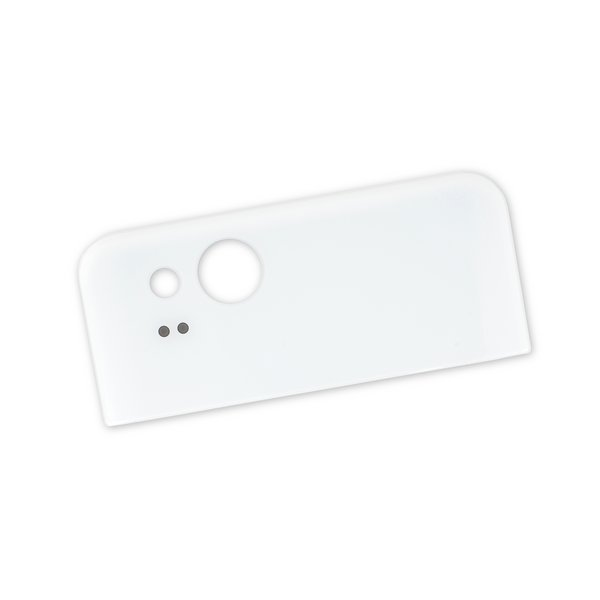 Google Pixel 2 Upper Rear Glass Panel / White