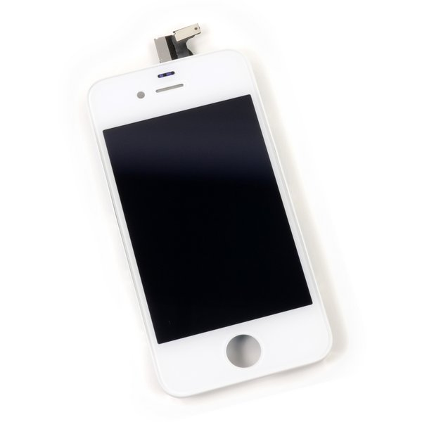 iPhone 4 LCD Screen and Digitizer (CDMA/Verizon) / Part Only / White / A-Stock