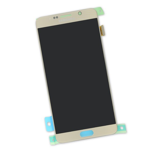 Galaxy Note5 Screen / Gold / Part Only