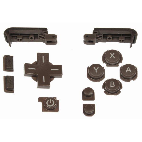Nintendo DSi XL Input Buttons / Bronze