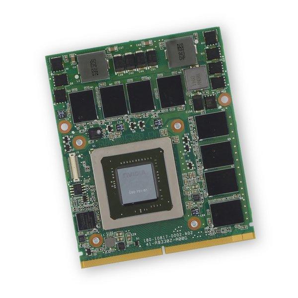 Alienware M15x (P08G) GTX 260M GPU