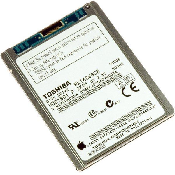 iPod Classic 160 GB (Thick) Hard Drive / Without Padding / New