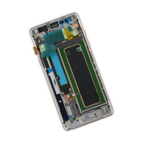 Galaxy Note7 (Europe) LCD Screen and Digitizer Full Assembly / Blue